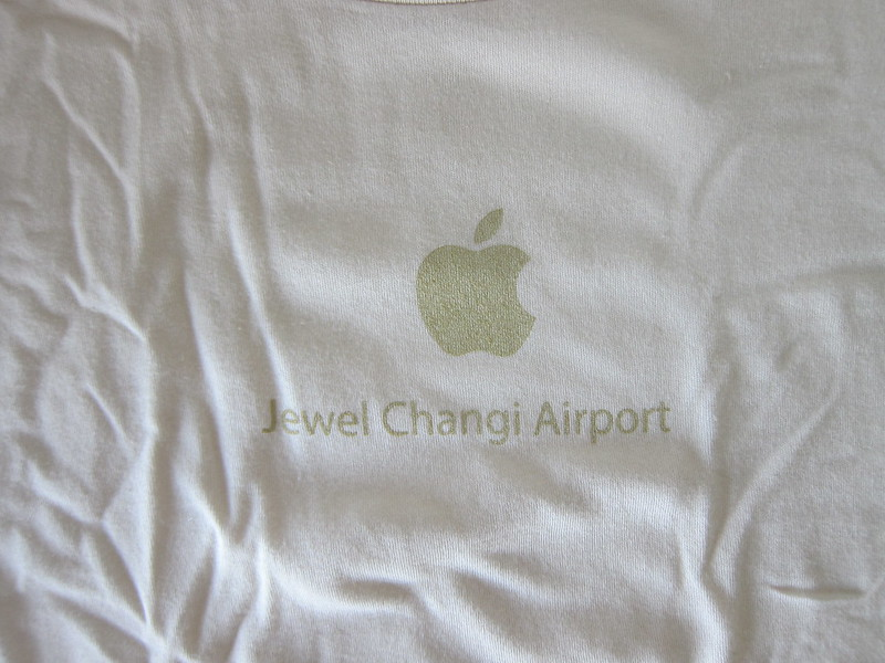 Apple Jewel Changi Airport Opening Swag - T-Shirt Front - Logo