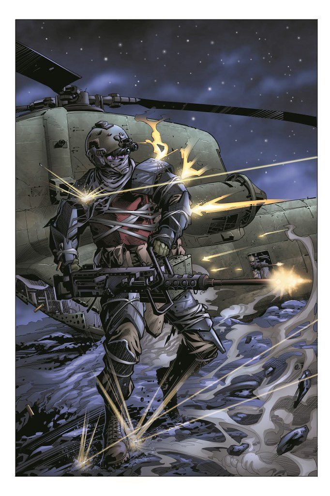 Art promotionnel d'IndieGoGo de Jawbreakers Devil Dog - Aaron Alfeche