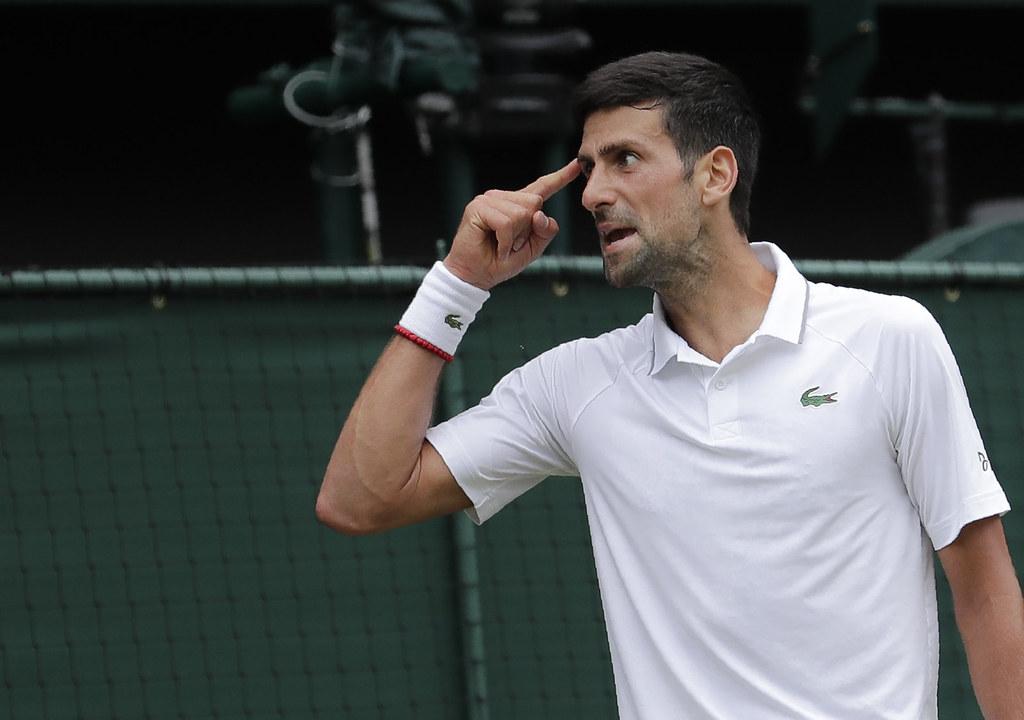 Djokovic。(達志影像資料照)