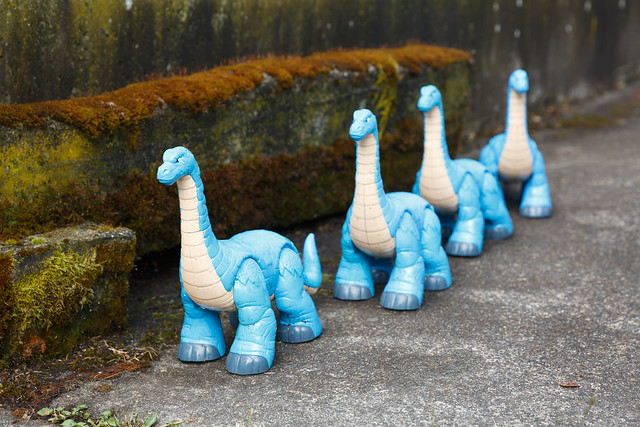 driveway dinosaurs