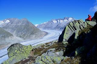 Glacier Perch by Jim