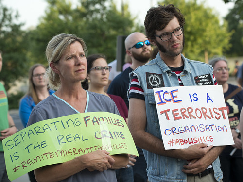 Lights for Liberty: A Vigil to End Human Detention Camps | by Fibonacci Blue