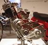 1954 NSU Quickly-Motor Schnittmodell