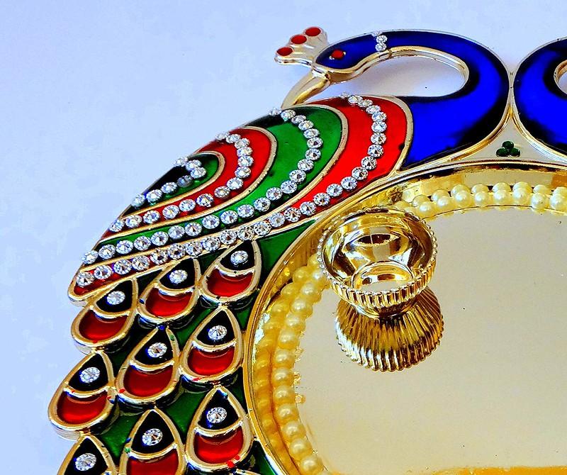 raksha bandhan thali decor