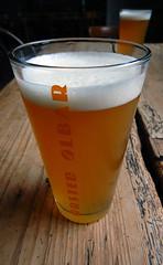 A beer in Orsted Olbar with its extensive list of beers in Copenhagen, Denmark
