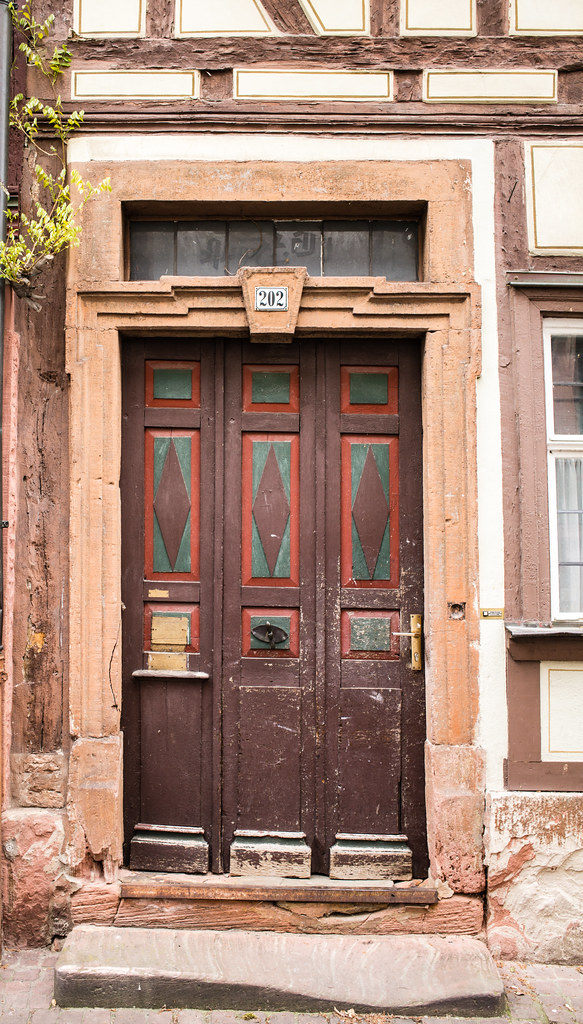 Doors Of Miltenberg No. 7