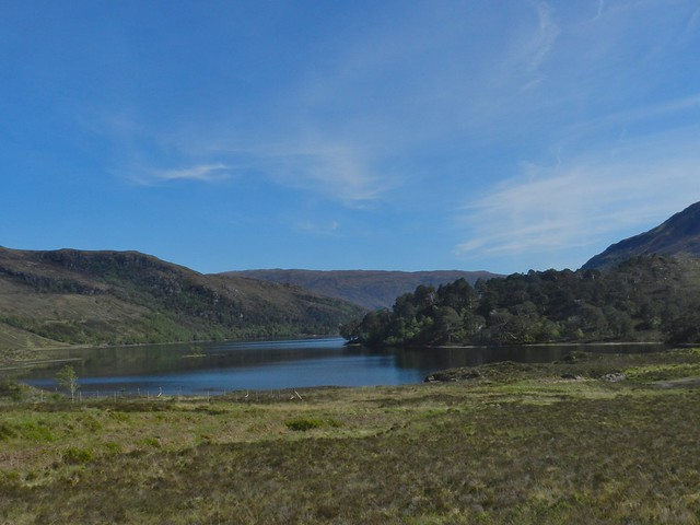Loch Clair, Highlands of Scotland, May 2019