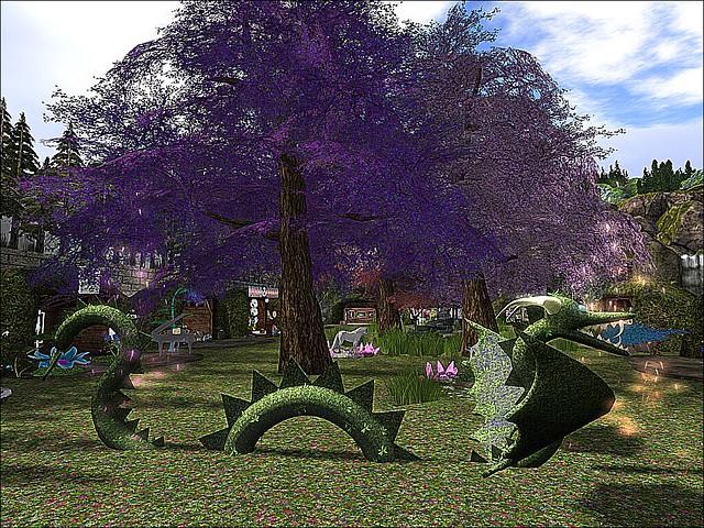Mieville Flower Festival -Lawn Dragon