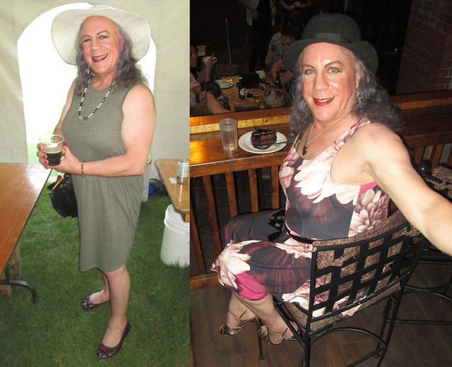 Two frocks, same day!
