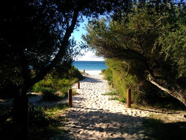 Path to the beach, South Beach, Wollongong