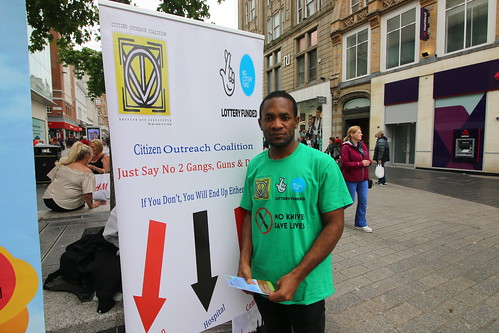 Street campaigning against criminal records Liverpool