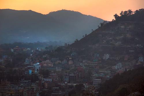 nepalkathmanduswayumbunathsunset kathmandu nepal asia travel travelphotography