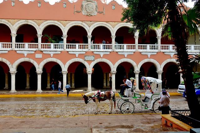 MEXICO, Yucatán, Merida, Rathaus von Mérida,   19073/11733
