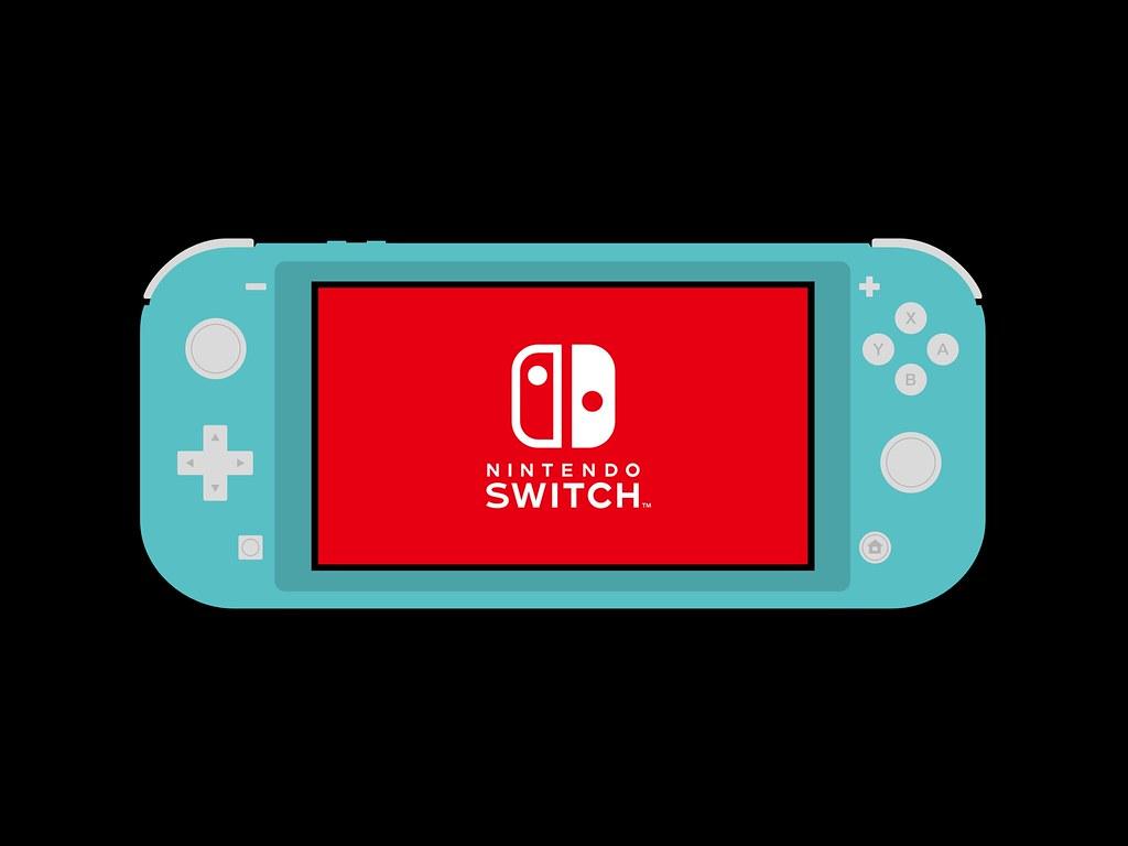 Nintendo Switch Lite Console Minimal Wallpaper Ipad Pro 12 Flickr