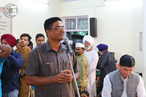 S.R. Lenka from Odisha, expresses his views