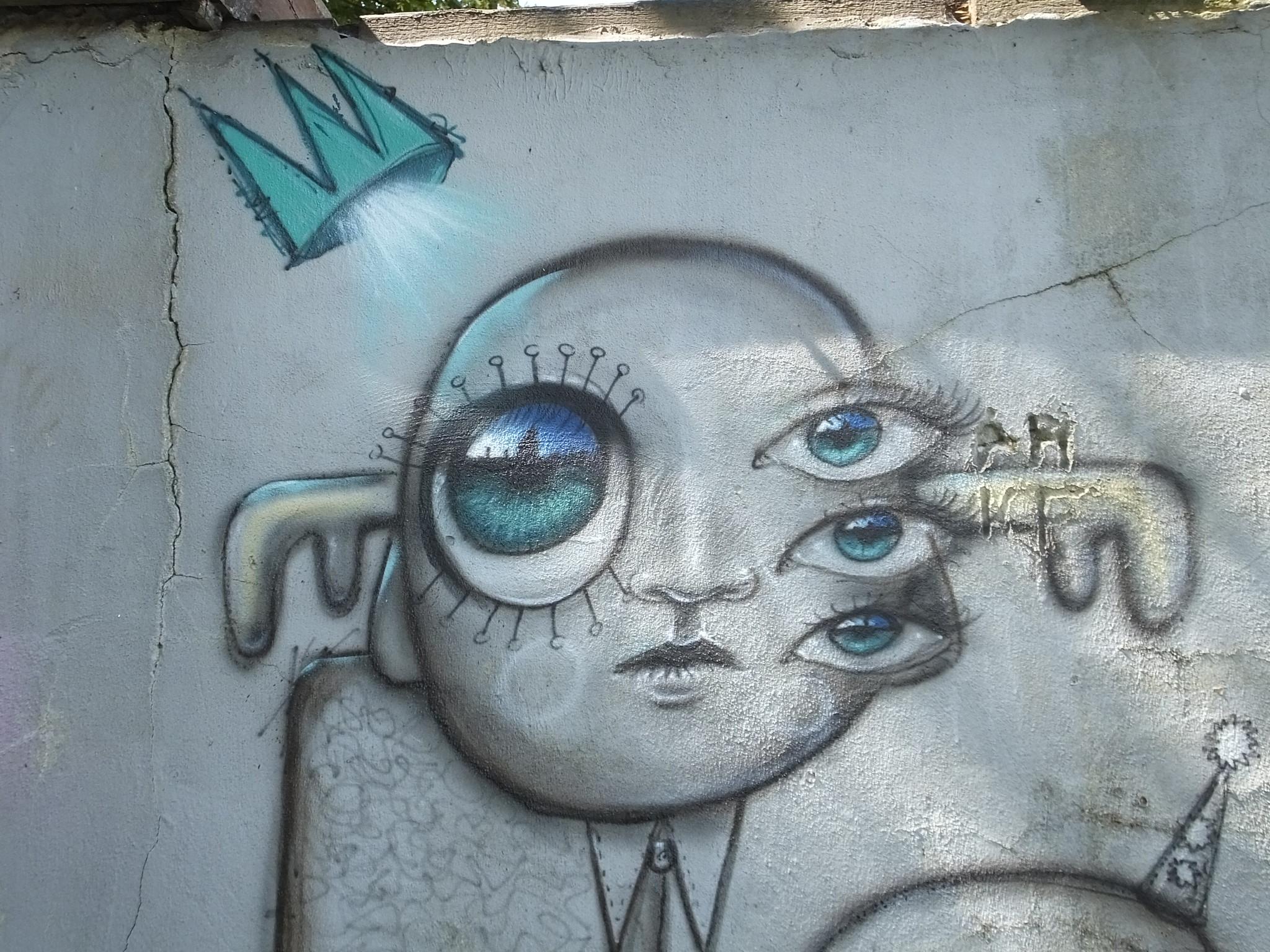 Bristol Street Art, My Dog Sighs
