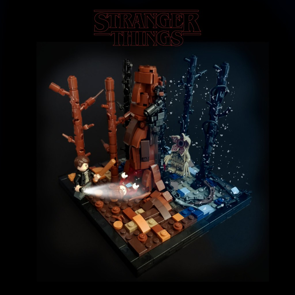 Stranger Things Season 1 – The Monster (custom built Lego model)