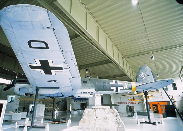 Berlin Gatow Militärhistorisches Museum Henkel He-111 (Nachbau Spanien)