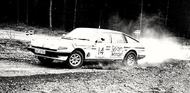 Marlboro Russek Rally, South Wales, 1985