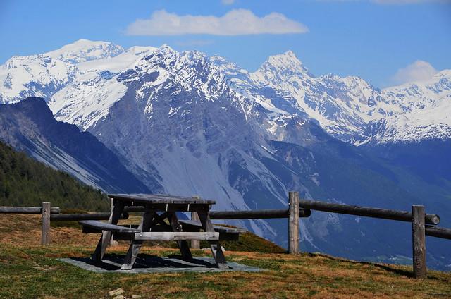 ...au Col de Foscagno (Alt : 2291m)