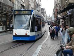 Amsterdam tram in Leidsestraat