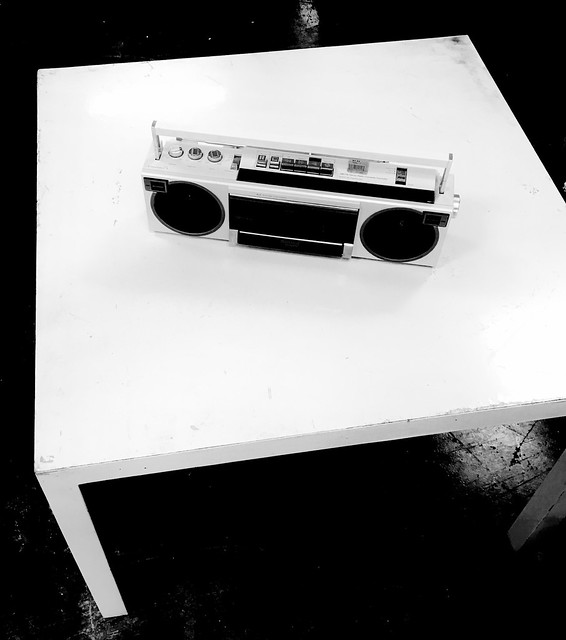 Mini BoomBox with Table 7-19 by Ken C Arnold