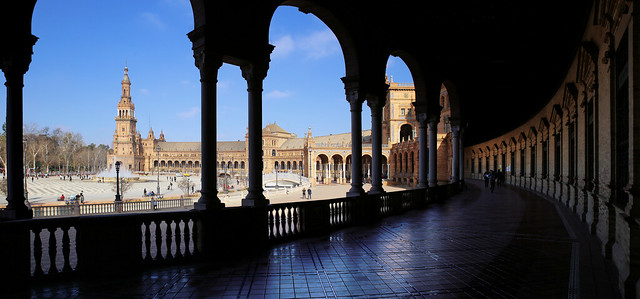 Plaza de Espana in Seville: where Star Wars was filmed