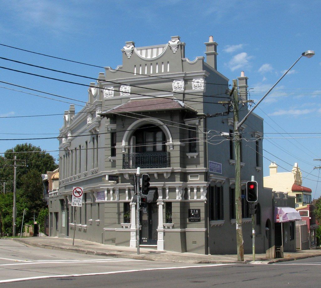 Building, Enmore, Sydney, NSW.