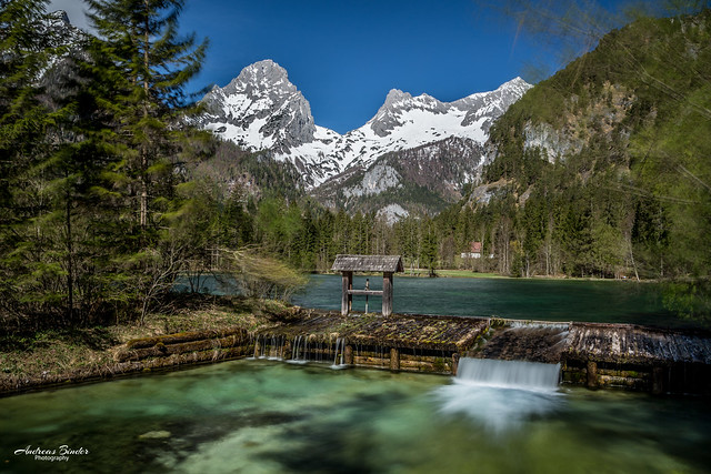 Schiederweiher mit Spitzmauer (2446m) - classic view