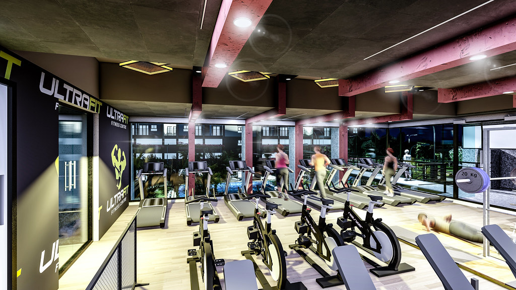 Phòng Gym tập thể dục