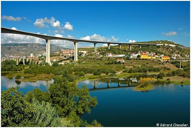Regua - Pont sur le Douro (A24)