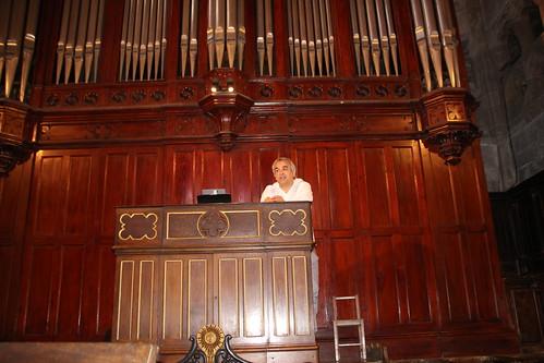 Aitor Olea Juaristiren organo kontzertua Lekeition