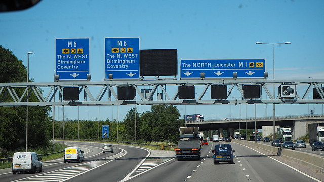 The Big Motorway Divide.