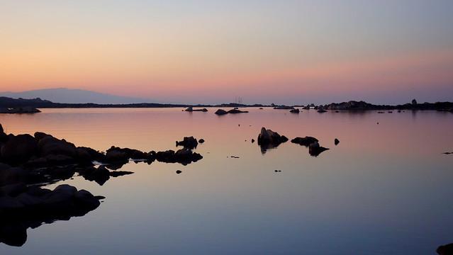 Calm and quiet evening