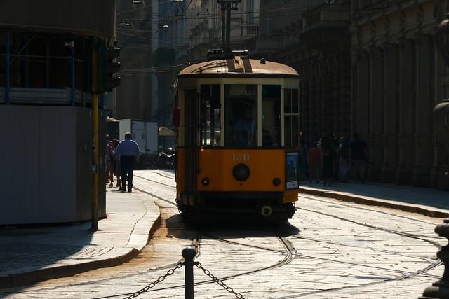 I tram di Milano