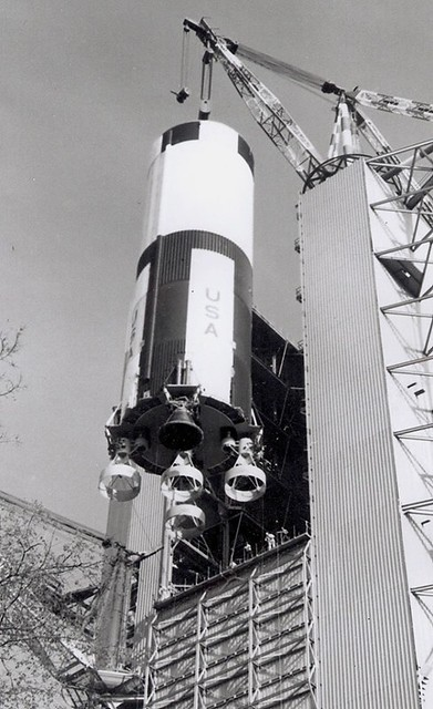 The Saturn V S-IC