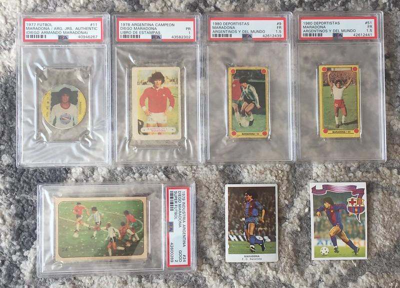 Maradona Collection Thus Far Net54baseball Com Forums