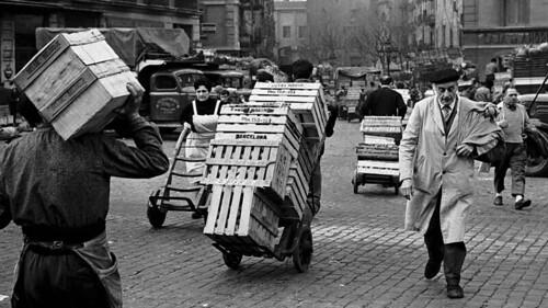 Mercat del Born anys 1950 Ignasi Marroyo La Vanguardia