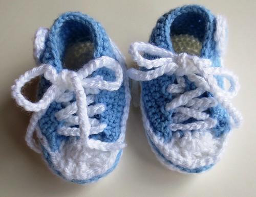 Converse Baby Sneaker Booties