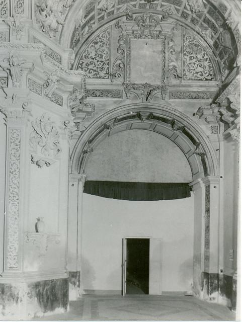 22.-Estado del interior de la Cap. barroca
