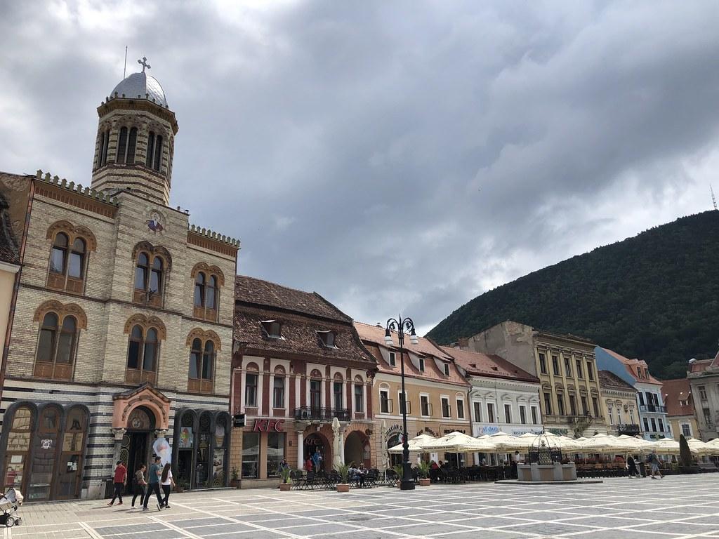 Romanian kiertomatka | Brasov vanhakaupunki
