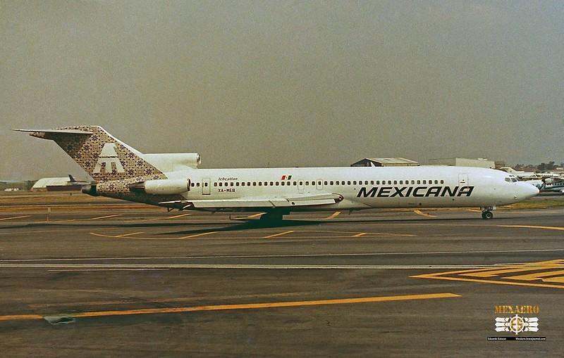 Mexicana / Boeing 727-264(Adv,) XA-MEB