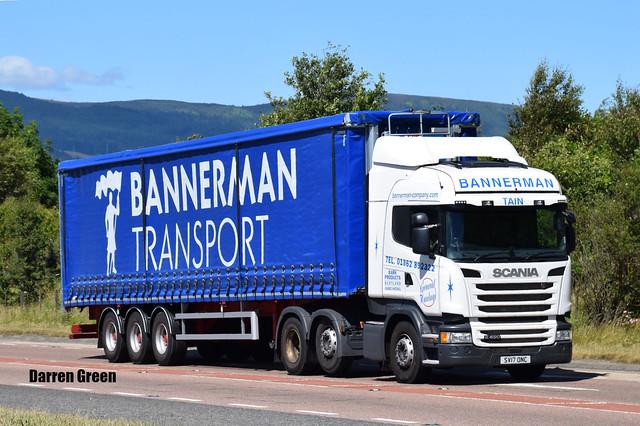 BANNERMAN TRANSPORT SCANIA HIGHLINE R450 SV17 ONC