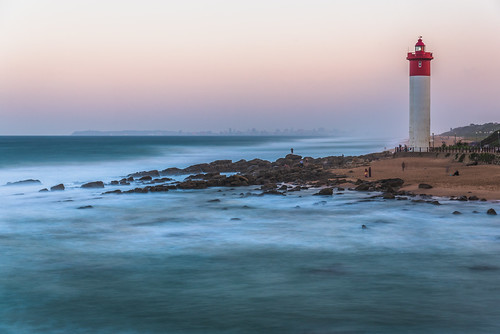 beach southafrica longexposure sunset lighthouse indianocean kwazulunatal umhlanga umhlangalighthouse africa 非洲 日落 南非 德班 长时间曝光 夸祖鲁纳塔尔省 маяк 灯塔