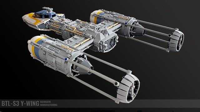 BTL-S3 Y-Wing Bomber