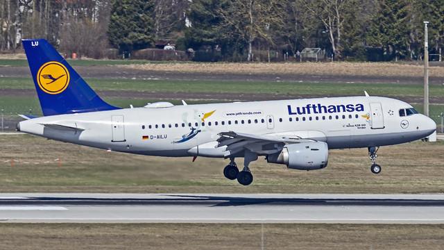 Lufthansa Airbus A319 D-AILU