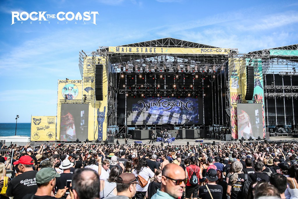 Main Stage 1 during the Wintersun concert