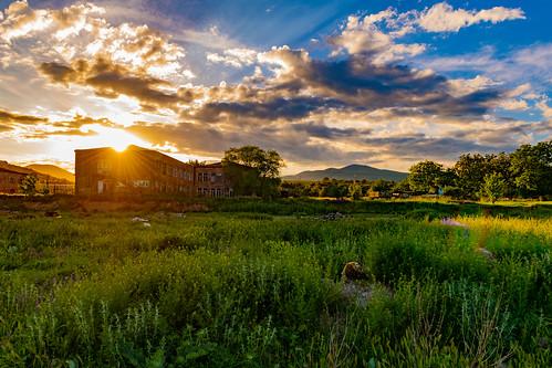 sunset armenia syunikprovince shinuayr village