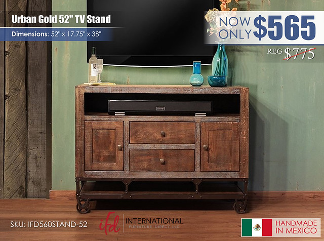 Urban Gold 52 in TV stand_IFD560STAND-52_update