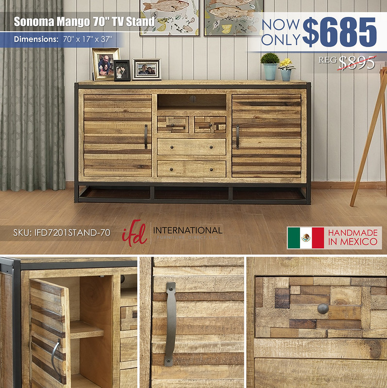 Sonoma Mango 70in TV Stand_IFD7201STAND-70